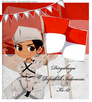 DIRGAHAYU REPUBLIK INDONESIA KE-67 by finnborden