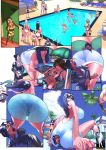 Mini Giantess Butt Crush - Amazon Hotel 3 by giantess-fan-comics