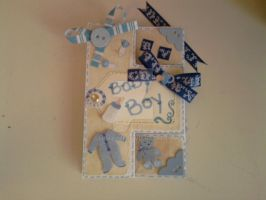 Baby Card Front by carmietee