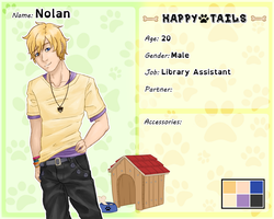 Happy Tails App- Nolan by ArtyyTart