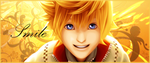 Roxas- Smile by DGray-Lenalee