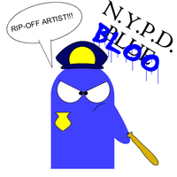 NYPD Bloo by battybuddy