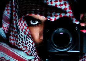 Behind Bedouin eyes by Kankouri