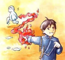 Roy Mustang by Gigei