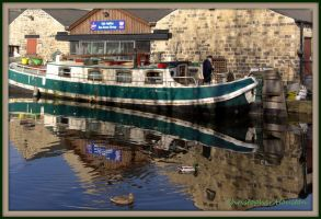 March:Canal Barge: Sowerby Bridge by squareprismish
