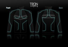 Tron - Legacy Jacket Costume by R3dF0x
