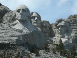 Mount Rushmore by MadForHatters