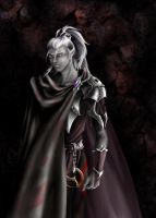 A young drow by SiberianCat
