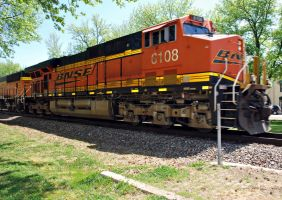 BNSF 6108 by SMT-Images