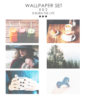 Wallpapers Set 002 by Burn-the-life