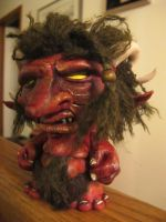 Red Munny Troll by CootieTourniquet