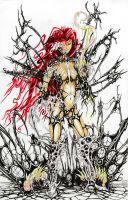Witchblade Symbiote by NickMcCluresArt