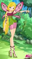 Winx, Emma, Fairy of Earth, S2 by EmmY190
