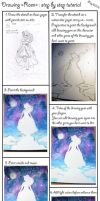 Princess Raen : Step by step Tutorial by rea-drawingzone
