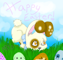Happy Easter by Momo-butt