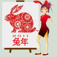 2011 Year of the Rabbit by daanton