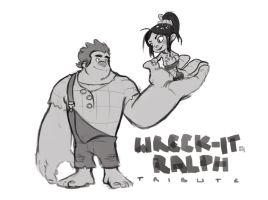Wreck-it Ralph by bib0un