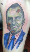 Zombie Nixon by johndevilman
