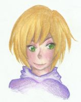 Colored pencils practice by Cynicrylle