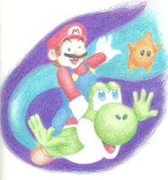 Super Mario Galaxy 2 by myvoicesrloudest
