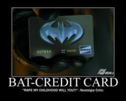 The Bat-Credit Card by MPS2001