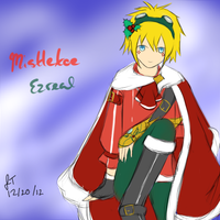 League of Legends: Mistletoe Ezreal by TheMuteMagician