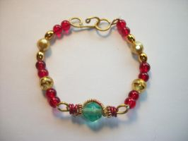 IronMan inspired bracelet by QueenAliceOfAwesome