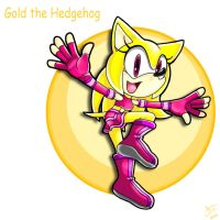 .:REQUEST:. Gold the Hedgehog by SonicFF