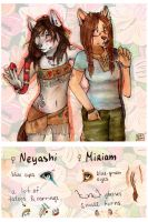 Neyashi and Miriam reference by GlykoNat