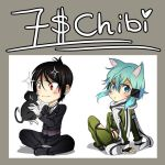 :: 7 $ :: CHIBI COMMISSIONS SAMPLE :: OPEN :: by Suobi-chan