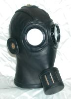 Steampunk gasmask 2 front rt by GriffinLeather