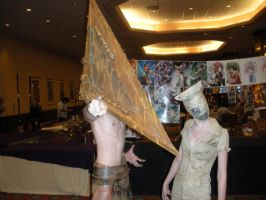 Pyramid Head at A-KON by Sirenz