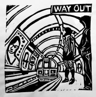 WAY OUT by fleetofgypsies