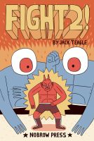 Fight 2 Comic Cover by Teagle