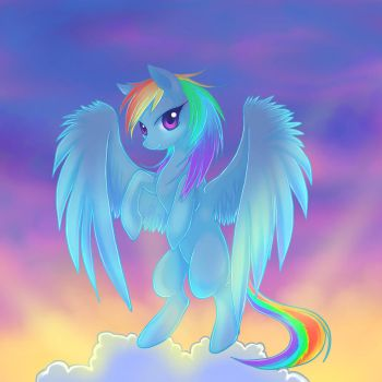 Rainbow in the sky by Jacky-Bunny