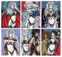 Lady Death Artists Exclusives by ElainePerna