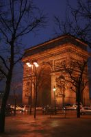 Arc de Triomphe by thedismantled