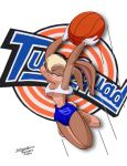 Lola Bunny Slam Dunk by Bob Guthrie by THE-Darcsyde