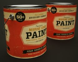 Paint Cans by RichOBrien