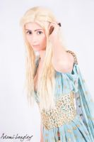 Daenerys Targaryen Cosplay by adami-langley