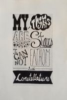 Hand Lettering- TFIOS by Rintaxiii