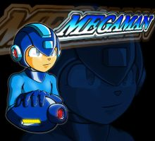 Mega Man modified design by erik-red