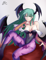 Morrigan by squigi