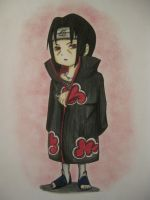 Chibi Itachi by cloudPOP