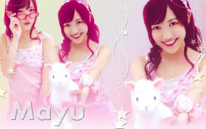 Wallpaper Mayu Watanabe Cute style by RainboWxMikA