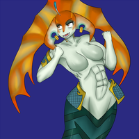 Naga Siren with M by Ricercakes