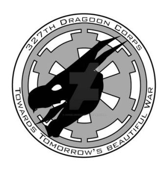 327th Dragoon Corp - patch by angelus0313