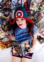 Comic Book Girlie by CallieCosplay