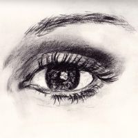 Study of a Woman's Eye by rgalexandervision