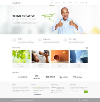 Astrum - Multi-Purpose Template by eXorcist-pl